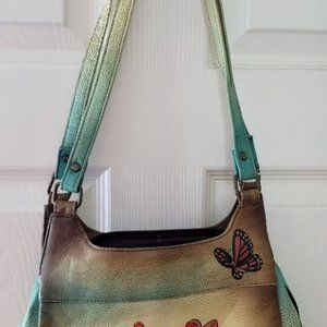 Anuschka Leather Handbag